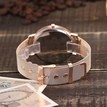 Load image into Gallery viewer, WOMENS LUXURY MESH DEIGN WATCH - Love Jewellery Official