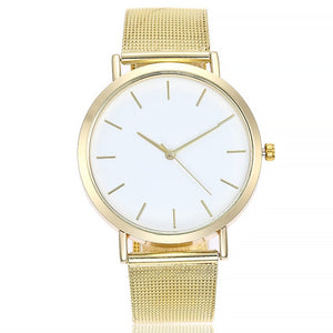 WOMENS LUXURY MESH DEIGN WATCH - Love Jewellery Official