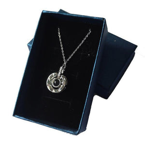 "ONE TIME OFFER  - 100 LANGUAGE ""I LOVE YOU"" NECKLACE - Love Jewellery Official"