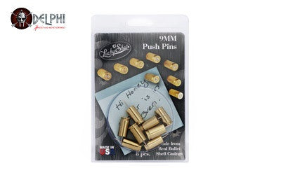 2 MONKEY 9MM Push Pin (Brass, 8PK)