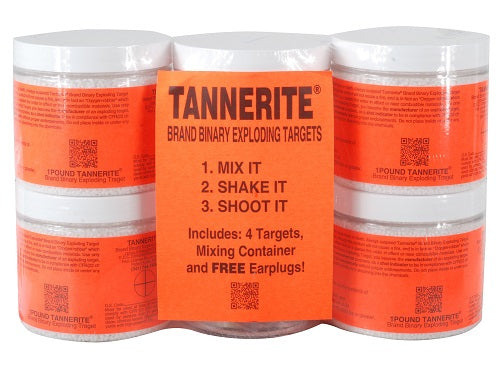 Tannerite® 4 Pack (4 1lb Targets)