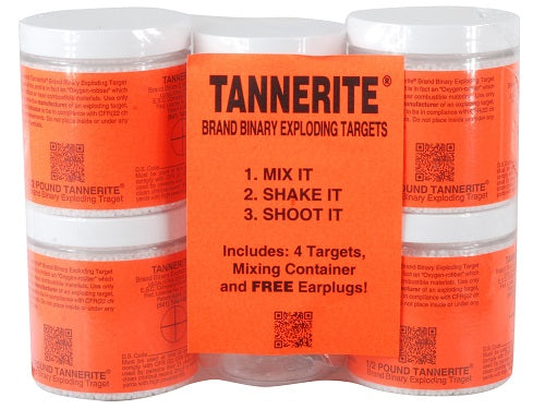 Tannerite® 4 Pack (4 1/2lb Targets)