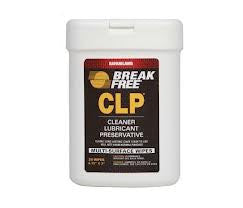 Break-Free CLP Treated Multi Surface wipes (20sheets  6 3/4x3)
