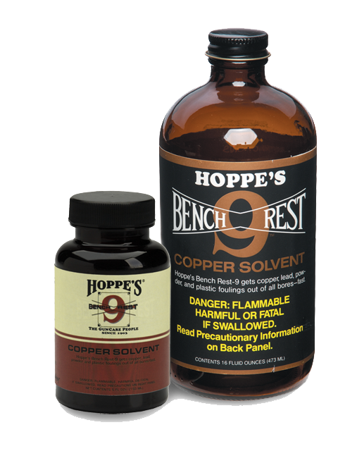 Hoppe's Bench Rest 9 Copper Cleaner (5oz)