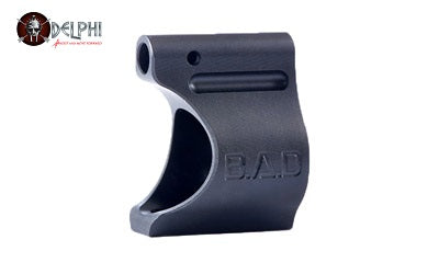 Battle Arms BAD-LGB-TI-625-B LIGHTWEIGHT LOW PROFILE TITANIUM GAS BLOCK - BLACK IONBOND PVD