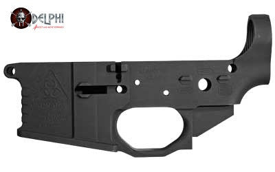 Black Rain Milled Lower Receiver