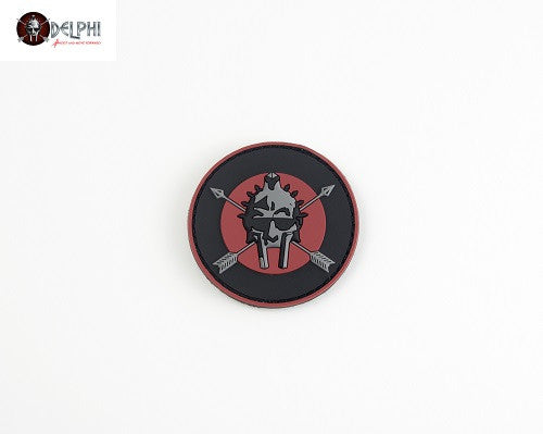 Delphi Tactical GLADIATE PVC Patch (Circle)