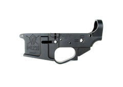 Delphi Tactical DP-15 AMBI Stripped Billet Lower Receiver, Left Side