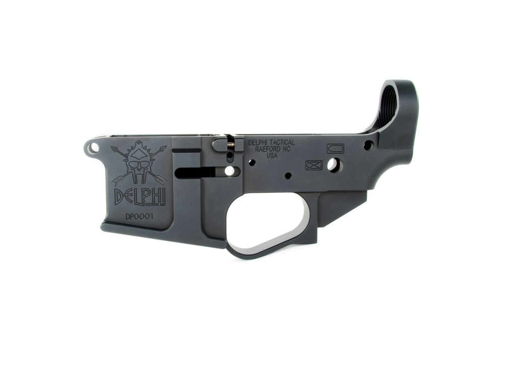 Delphi Tactical DP-15 Stripped Billet Lower Receiver