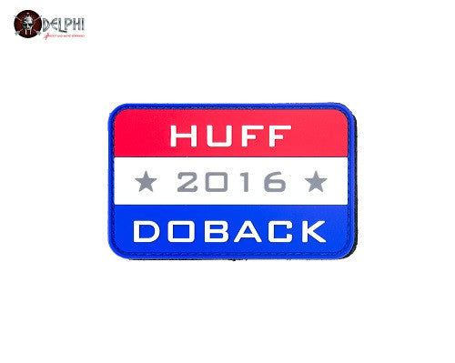 "Delphi Tactical ""HUFF and DOBACK 2016"" PVC Patch"