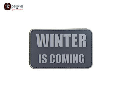 "Delphi Tactical ""WINTER IS COMING"" PVC Patch"