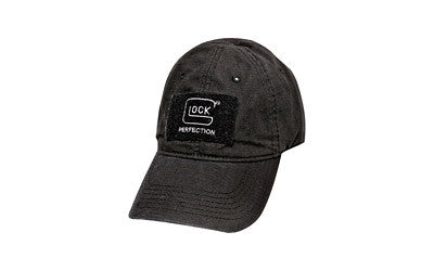 GLOCK UNSTRUCTURED AGENCY HAT, BLACK