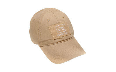 GLOCK UNSTRUCTURED AGENCY HAT, KHAKI