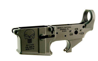 Spike's Lower (Multi) Forged Punisher - Bullet Markings