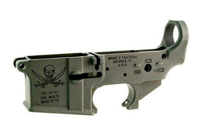 Spike's Lower (Multi) Forged Pirate - Bullet Markings