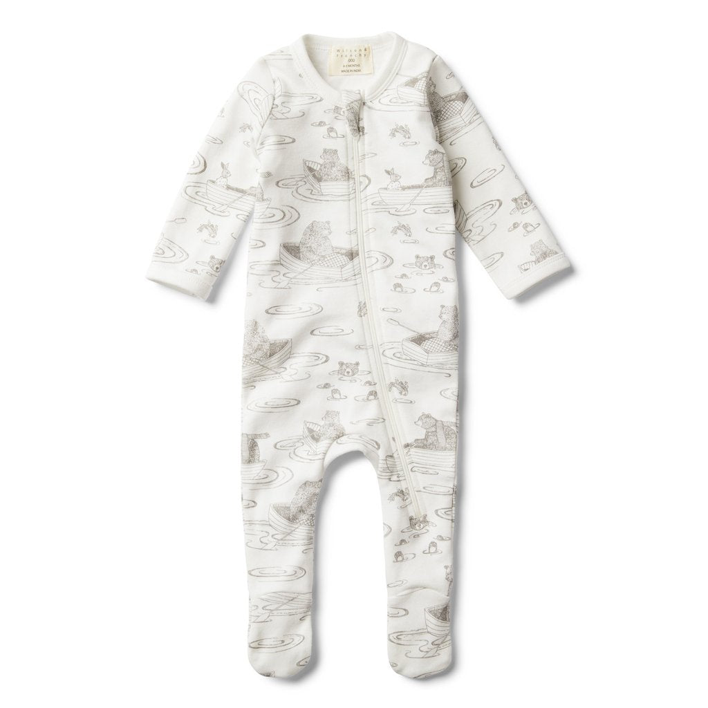 a91ee1e124de Wilson   Frenchy Zip Suit with Feet - Little Row Boat – OPP