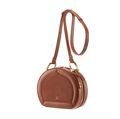 "<b>SANCIA</b><br><font size=""+1"">Sistelo Crossbody - Brandy</font>"