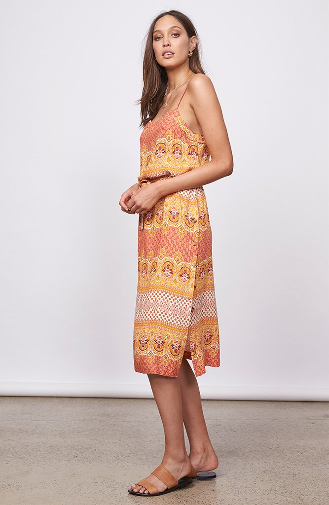 "</b>MINKPINK<br><font size=""+1"">Sunday Social Midi Dress</font>"
