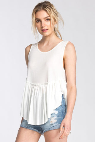 "</b><br><font size=""+1"">Not So Basic Tank - Ivory</font>"