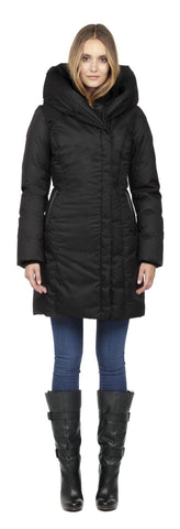 "<b>Soia & Kyo</b><br><font size=""+1"">Camyl Coat - Black</font>"