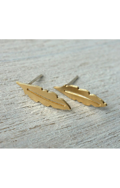 "<b>Shlomit Ofir</b><br><font size=""+1"">Feather Studs</font>"