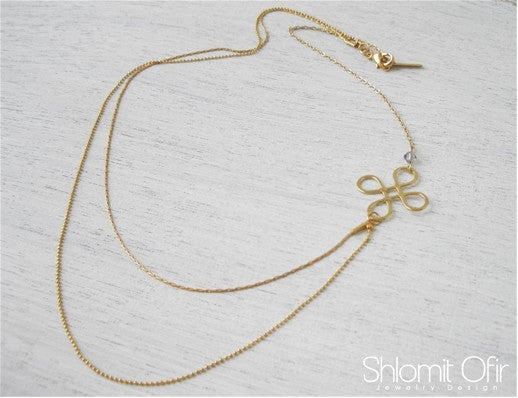 "<b>Shlomit Ofir</b><br><font size=""+1"">Loop Necklace</font>"