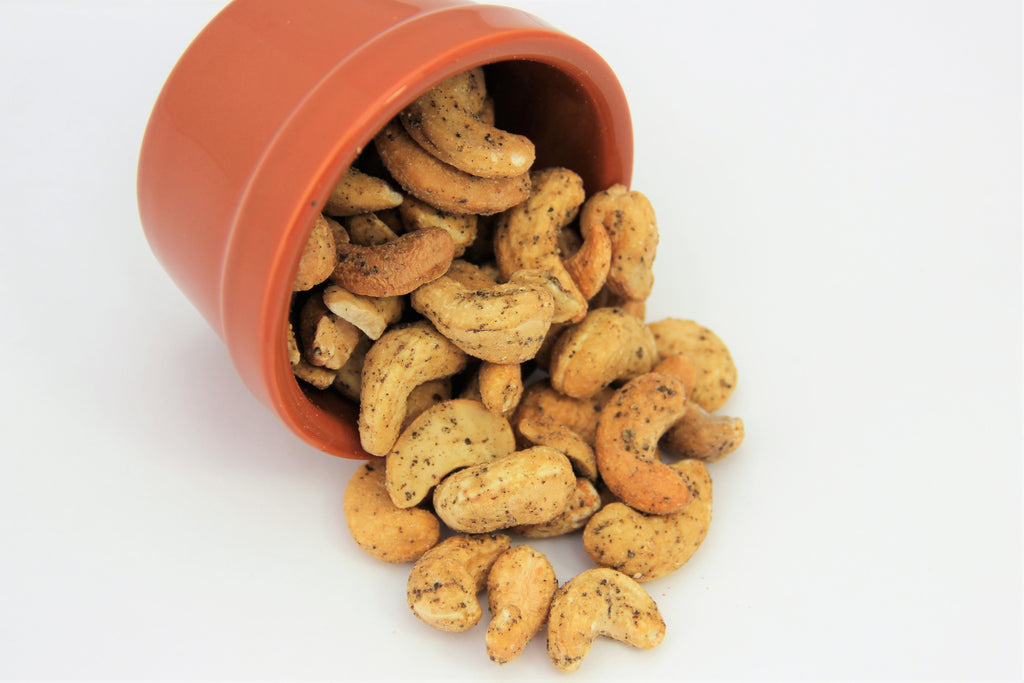 Black Pepper Cashews 6 pack