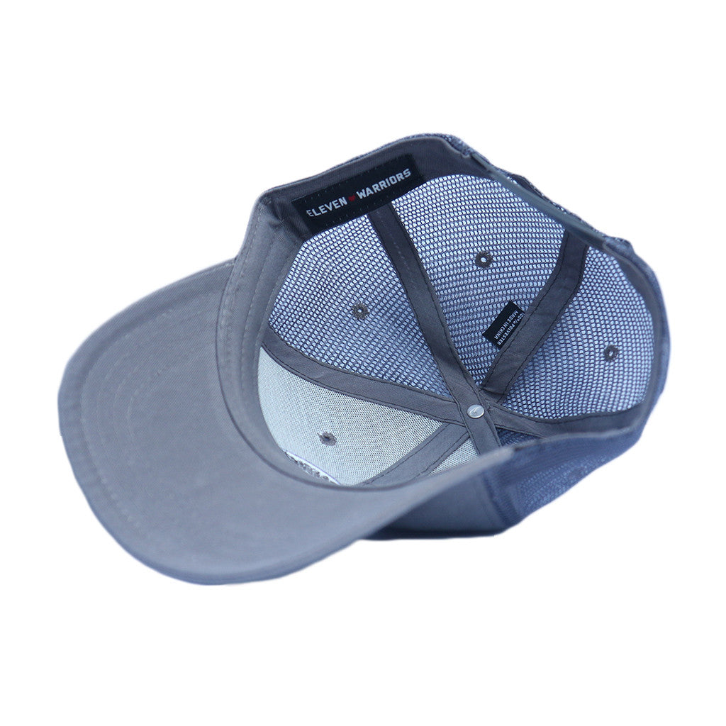 Eleven Warriors Trucker Hat (Steel Gray)