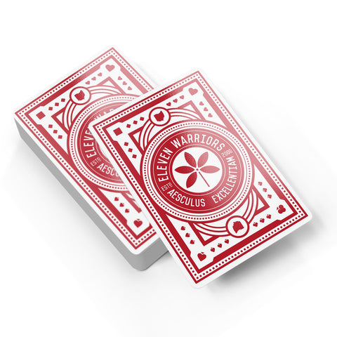 Eleven Warriors Playing Cards