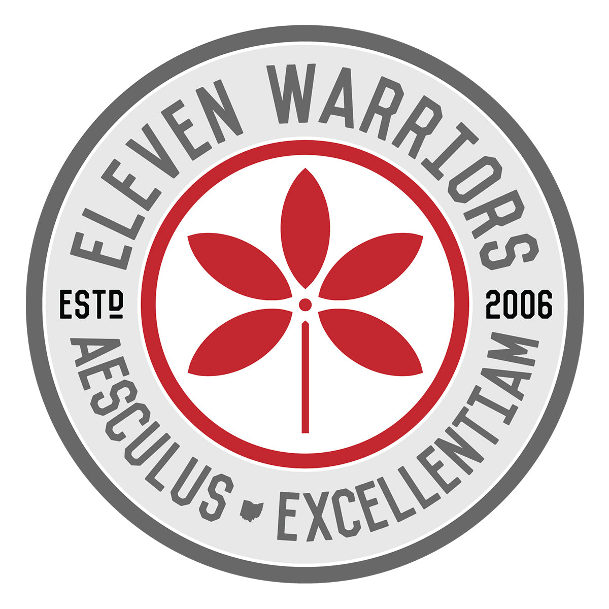 Eleven Warriors Seal Sticker