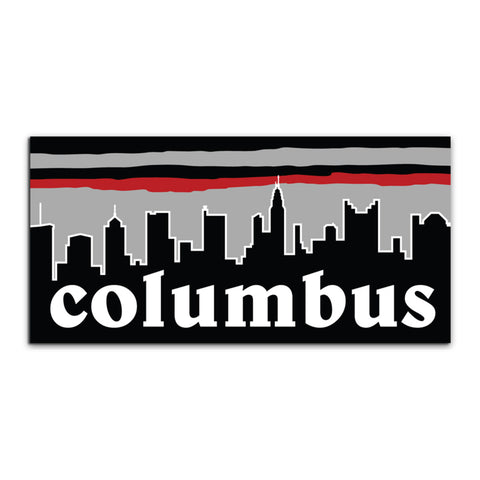 Columbus Vibes Sticker