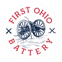1st Ohio Battery Sticker