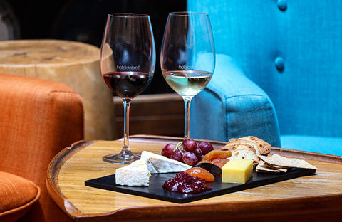 Wine and Cheese Flight
