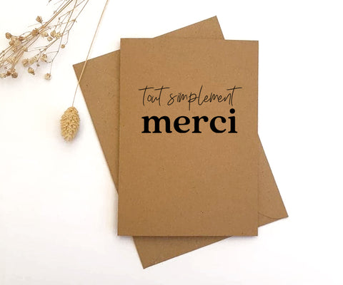 Carte Merci
