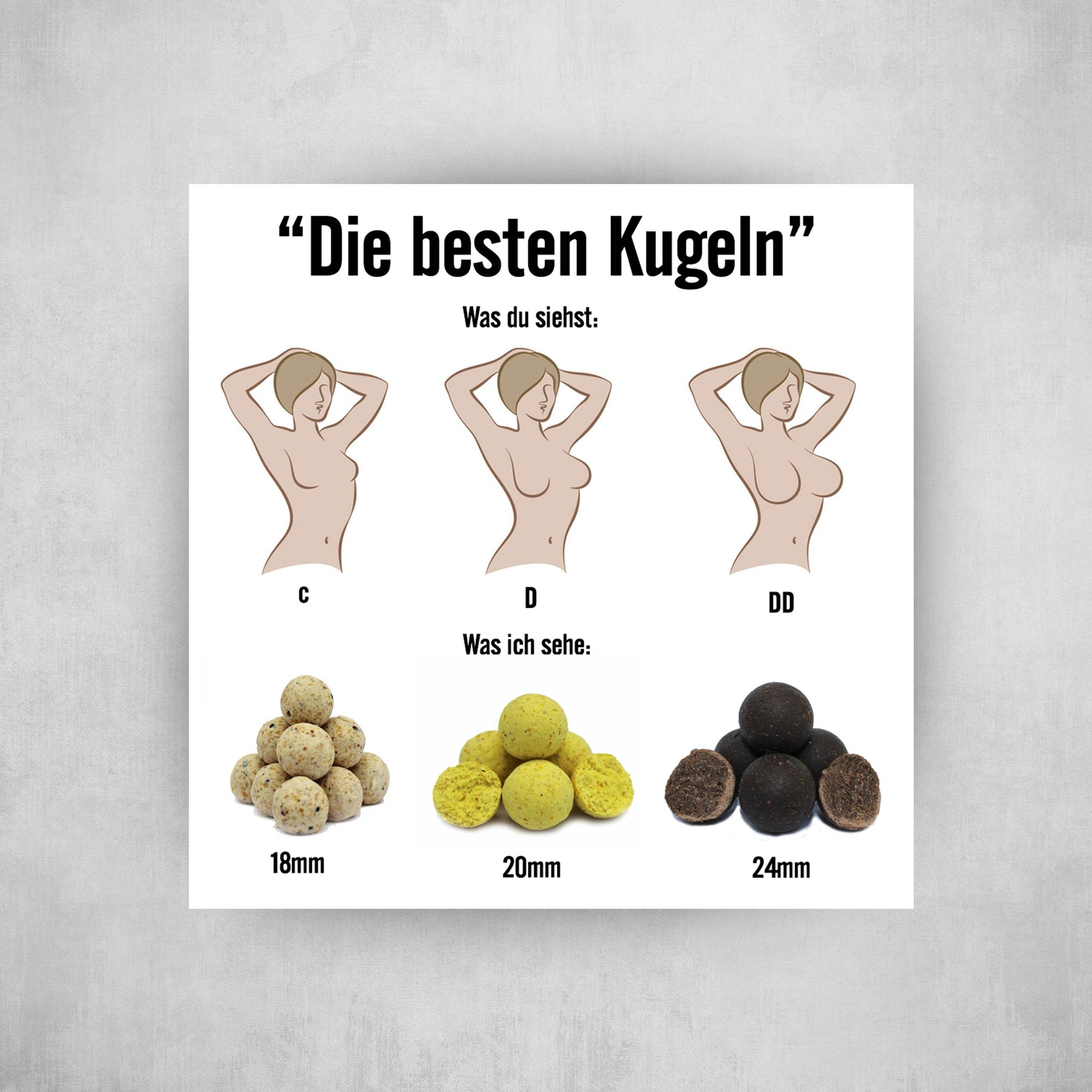 Sticker - Beste Kugeln - Angel-Bude