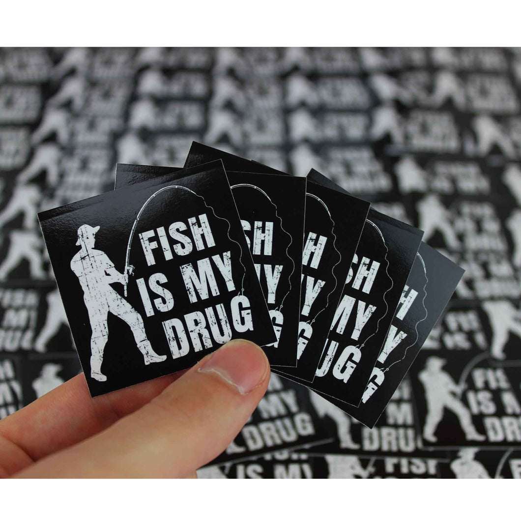 Sticker - Fish is my drug - Angel-Bude