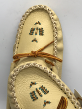 Load image into Gallery viewer, Bastien Leather Summer Mocs -Size 4-9