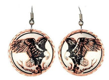 Load image into Gallery viewer, HYPO ALLERGENIC - EARRINGS - Brushed Copper Earrings