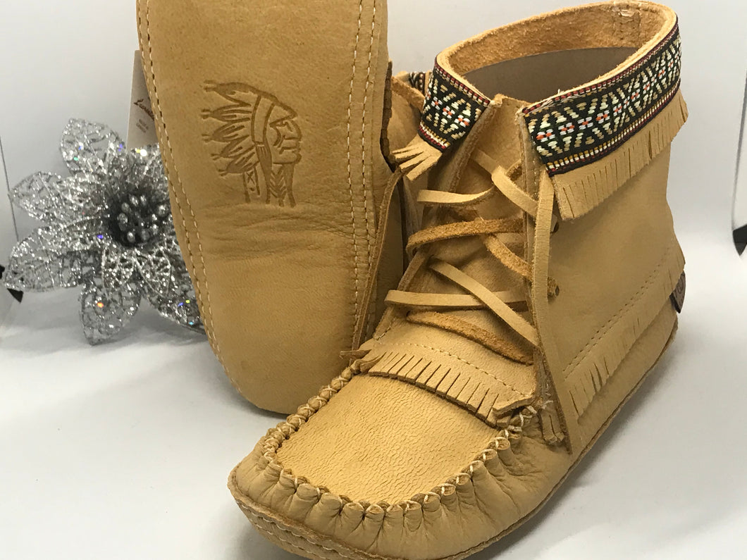 NEW - Laurentian Chief Fringed Concho Boots Size 6-10