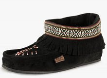Load image into Gallery viewer, Laurentian Chief - Nation Fringed, Beaded, Lined with 5MM Gum Sole