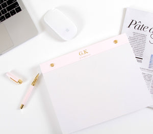 Large Notepad, Pink