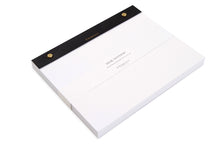 Large Notepad, Black