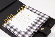 B6 Dated Planner - Black