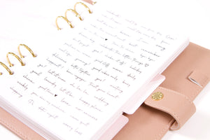 A5 Dated Planner - Beige