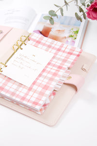 A5 Dated Planner - Pink