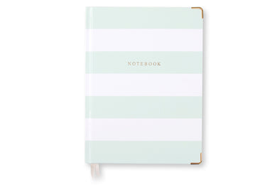 Notebook - Mint & White