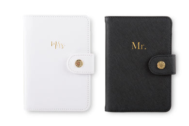 Passport Holder Set - Mr. & Mrs.