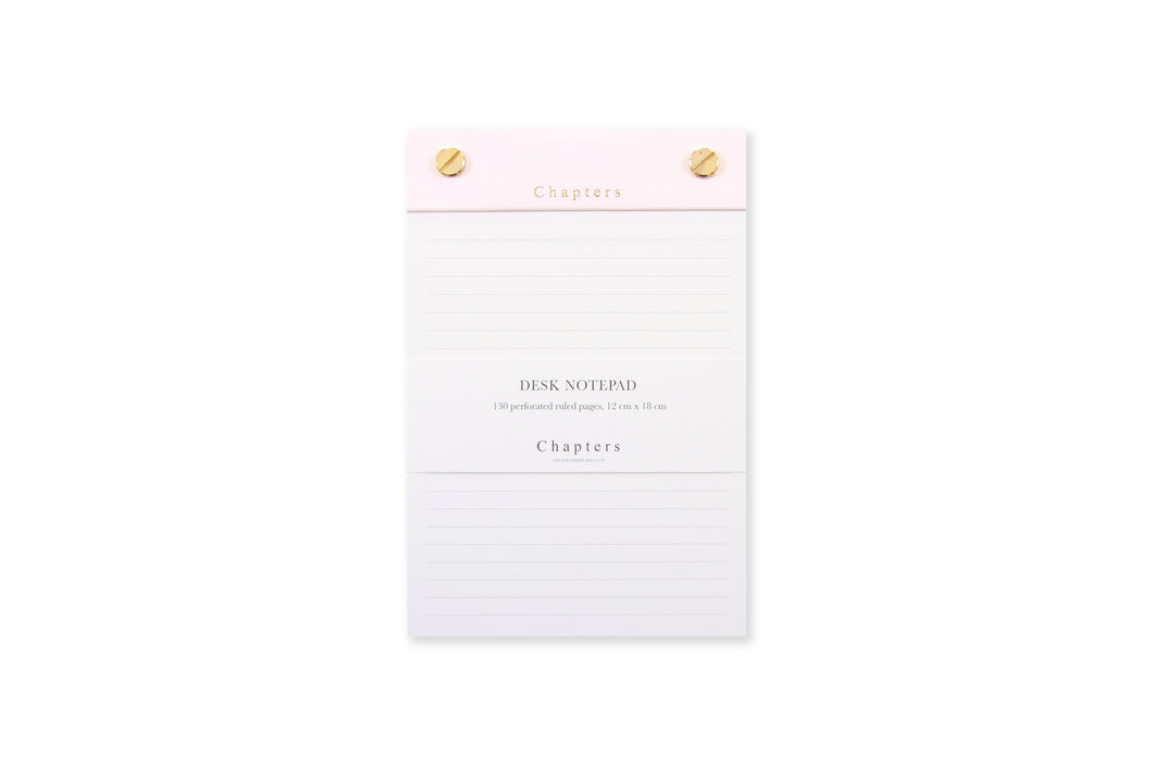 Small Notepad, Pink