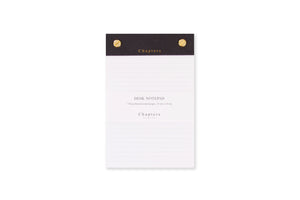 Small Notepad, Black