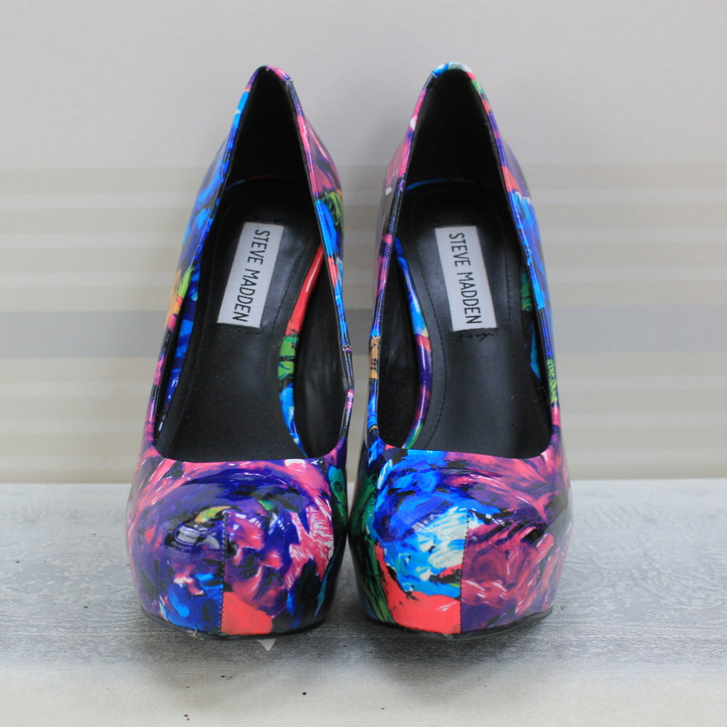 Multicolour Nala Floral pump